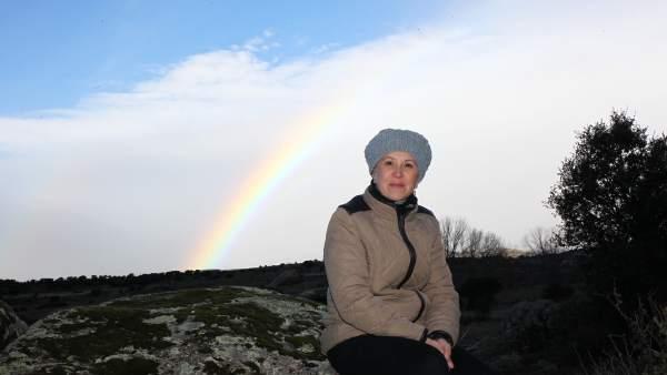 Marián, trabajadora de un hipermercado que atravesó un cáncer de ovarios