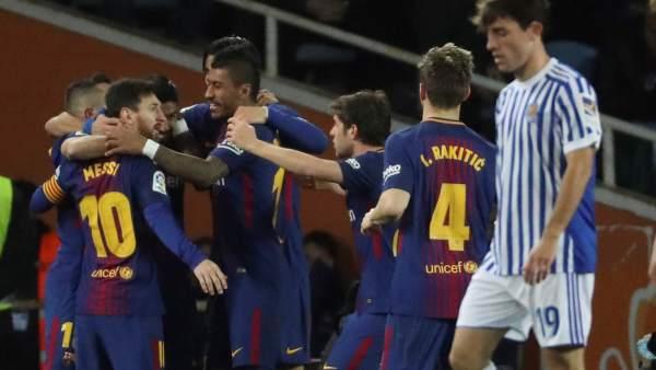 Gol del Barcelona
