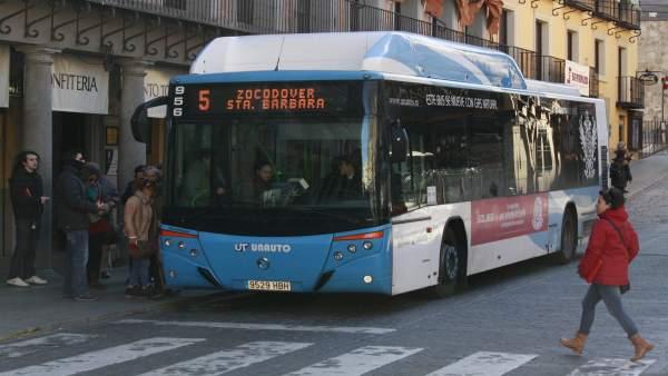 Autobús, Calle, Carretera, Parada