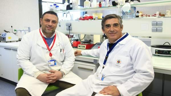 Los profesores de la CEU UCH Salvatore Sauro y Santiago Arias Luxan