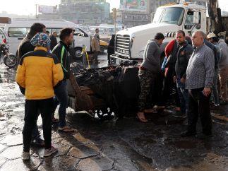Un terrorista suicida mata a siete personas en un parque abarrotado en Bagdad en pleno Ramadán