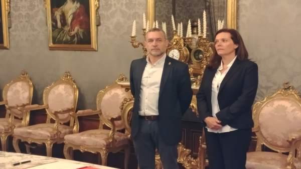 Miguel Laparra y Ana María Díez Fontana.