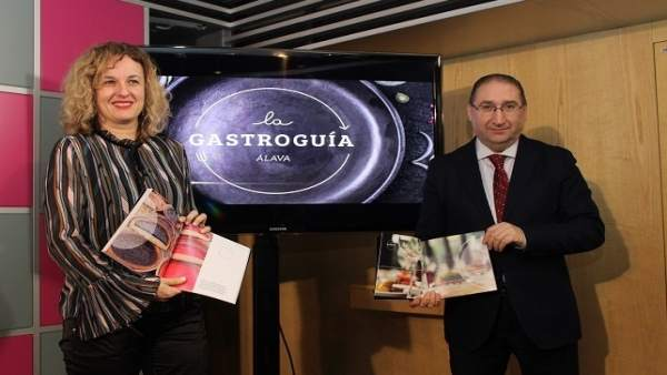 Diputada de  Comercio y Turismo de Álava, Cristina González