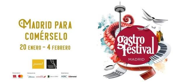 Llega el Gastrofestival de Madrid: tapas, diseño y solidaridad