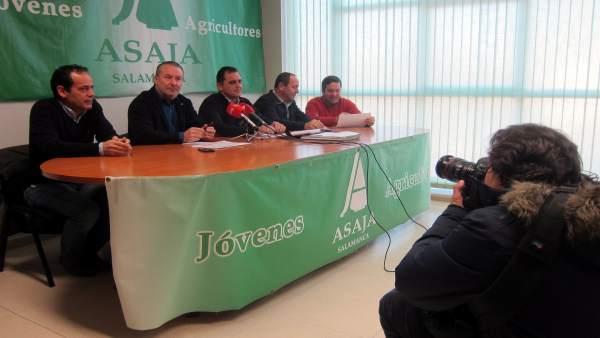 Dujo en ruedad de prensa en Salamanca.