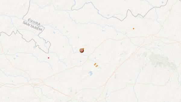 Terremoto en Portugal que se sintió en Badajoz
