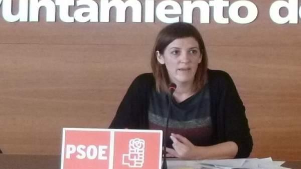 La concejala del PSOE María Madorrán
