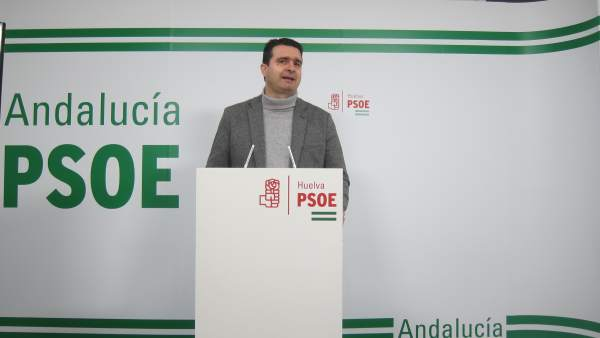 El senador por el PSOE de Huelva, Amaro Huelva.