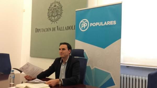 El portavoz del Grupo Popular, Guzmán Gómez Alonso