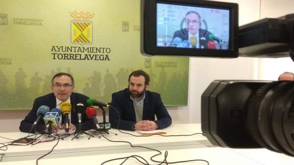Rueda de prensa de Cruz Viadero y Otto Oyarbide
