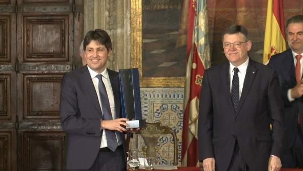 SCC recibe el Premio Convivencia de la Fundación Profesor Manuel Broseta