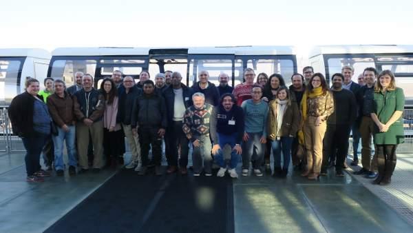 Encuentro con los participantes del curso