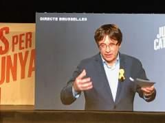 JuntsxCat pide la delegación de voto para Puigdemont, Ponsatí y Puig