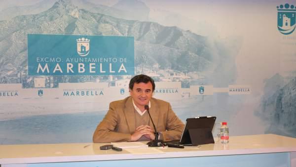 Felix Romero portavoz equipo de gobierno Marbella