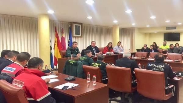 Rueda de prensa de presentación del destacamento carnavales Águilas