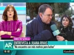 El abogado de Juana Rivas deja colgada a Ana Rosa en directo