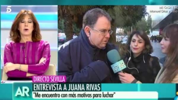 Telecinco Ana Rosa Juana Rivas abogado entrevista
