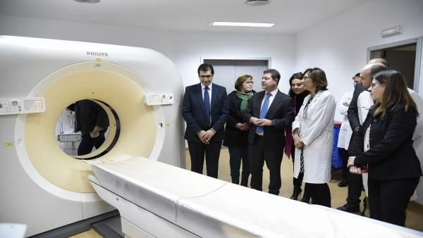Visita de García-Page y Regina Leal al hospital de Ciudad Real