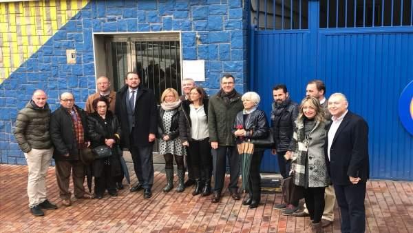 Inauguración de la Oficina Única de Pedanías y Barrios