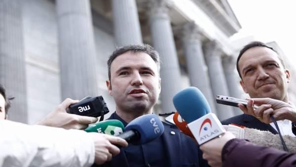 El diputado de Ciudadanos Cs por Málaga Guillermo Díaz