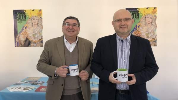 Moreno Ferrer y Petez atencia velez málaga torre volverás campañña fitur 2018