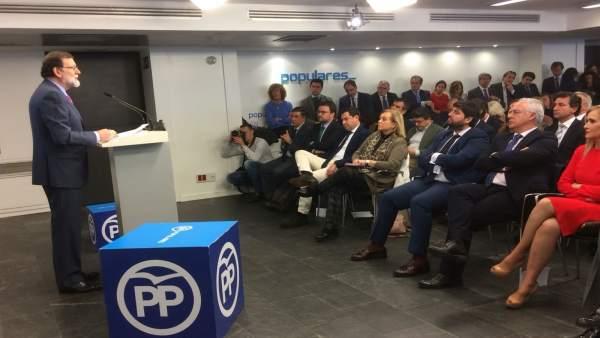 Foto de López Miras  la Junta Directiva nacional por si es de tu interés