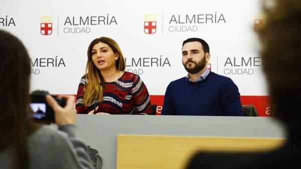 Carolina Lafita y Carlos Sánchez