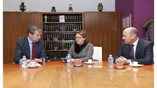 Reunión de la Diputación de Zamora con Renfe