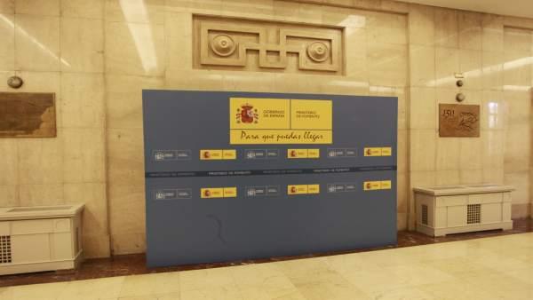 Sede del Ministerio de Fomento de Madrid