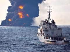 La contaminación del petrolero 'Sanchi' se expande