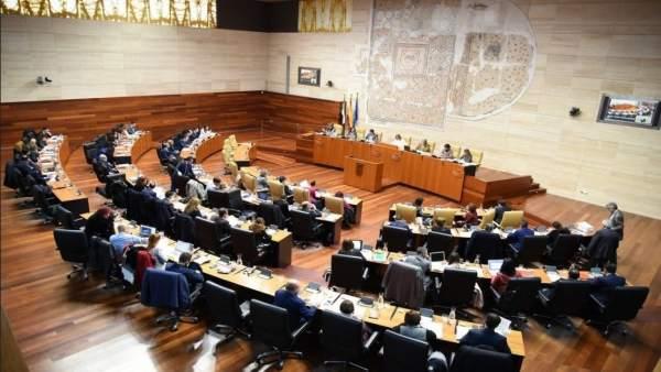 Pleno de presupuestos en la Asamblea