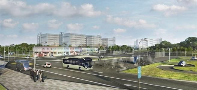 Volvo prueba sus autobuses autónomos en Singapur