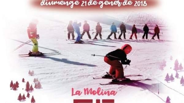 Bautizo de nieve de La Molina