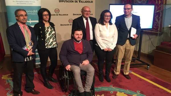 Presentación de la promoción turística de la Diputación de Valladolid en Fitur