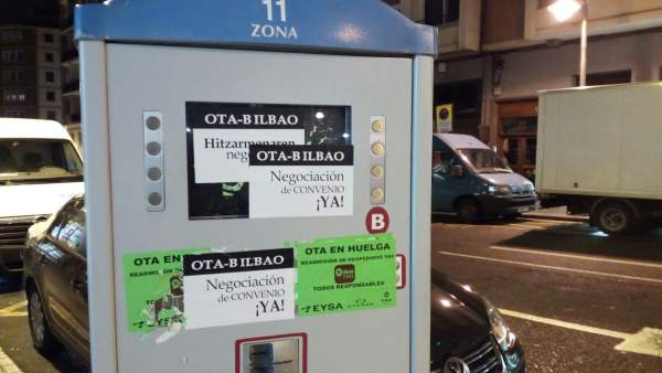 Huelga OTA Bilbao