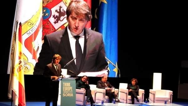 El alcalde de Soria interviene en 'Think europe'