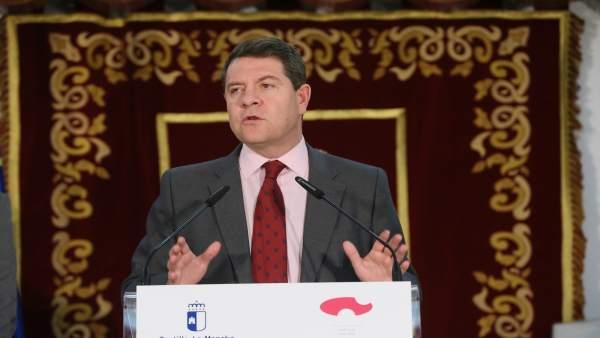 García-Page en el Consejo de Gobierno itinerante en Motilla del Palancar