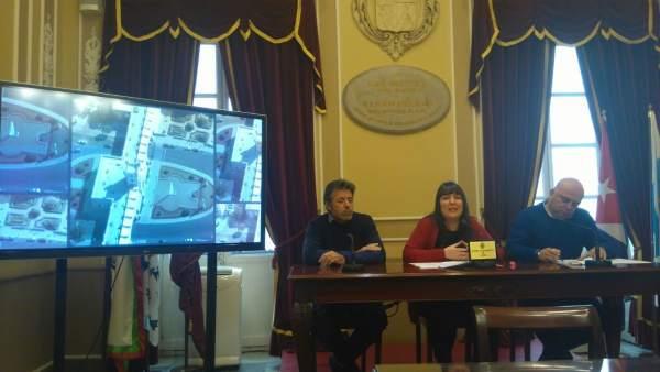 Presentación de la oferta de Fitur del Ayuntamiento de Cádiz