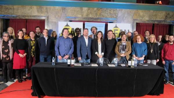 Organizadores, patrocinadores y sedes del Festival Aragón Negro 2018