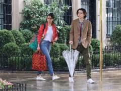 Timothée Chalametdonará su salario por el filme de Woody Allen