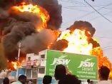 Explosión de una gasolinera
