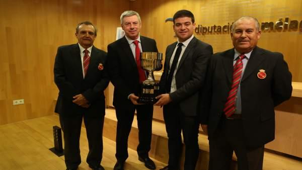 Presentación de la Copa Iberia de Golf