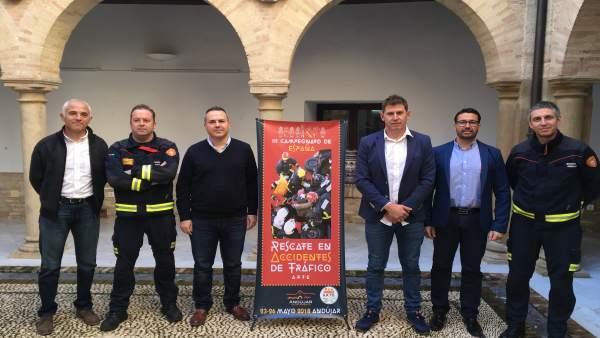 Presentación del Campeonato Nacional de Rescate
