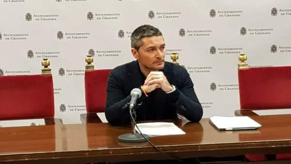 El portavoz municipal de Ciudadanos, Manuel Olivares