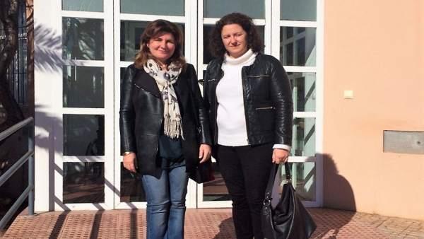 Rosalía Espinosa y Nuria Rodríguez