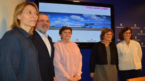 Cristina Farràs, Joan Reñé, Elvira Fernández, Àngels Betriu Cristina Puñet