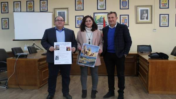 Presentación de fiestas en honor a San Sebastían en Algarrobo