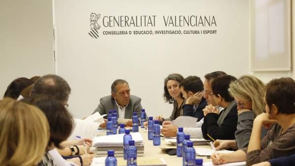 Educació acorda amb l'Ajuntament de València tramitar nou actuacions del Pla Edificant
