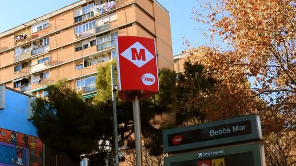 Barrio del Besós Maresme, en Barcelona.