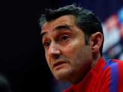 """Valverde: """"No hay que hacer la bola muy grande con Dembélé"""""""